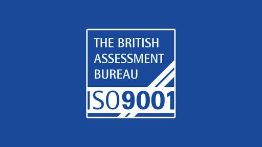 ISO Accreditations Achieved
